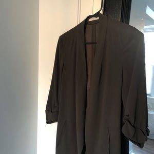 Jackets & Blazers - Aritzia Macaulay blazer in olive green
